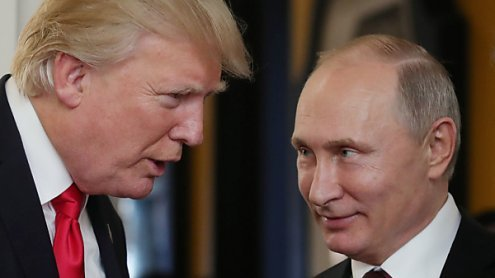 Trump lud Putin laut russischen Medien nach Washington ein