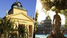Thermalbad Vöslau: Tour kurz vor Saisoneröffnung