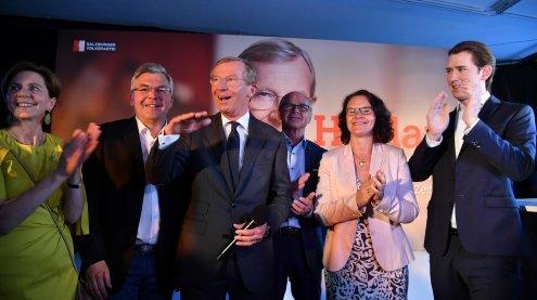 Live von der Wahl in Salzburg