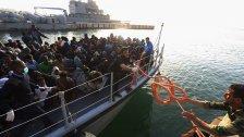 1.400 Flüchtlinge in zwei Tagen gerettet