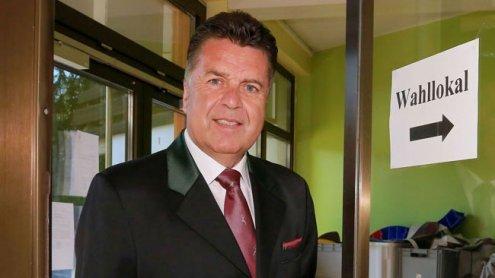 """SBG-Spitzenkandidat Hans Mayr: """"Es ist eine sehr schwere Stunde"""""""