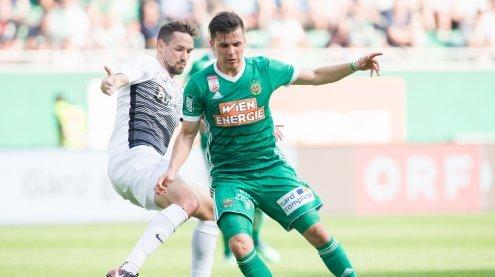 Rapid siegt mit 4:1 gegen Admira und holt sich Europacupticket