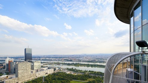 Mit neuen Highlights: Donauturm in Wien ab sofort wieder eröffnet