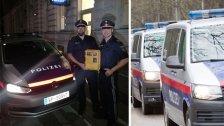 Polizisten retten Leben in Wien-Favoriten-Hietzing