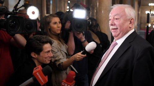 Wiens Bürgermeister Michael Häupl lud zu Spritzwein ein