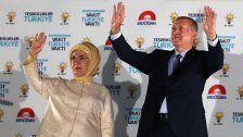 Türkei: Wahlkommission verkündet Sieg Erdogans