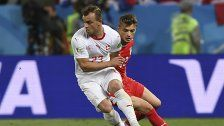 Schweiz jubelte über 2:1-Erfolg gegen Serbien