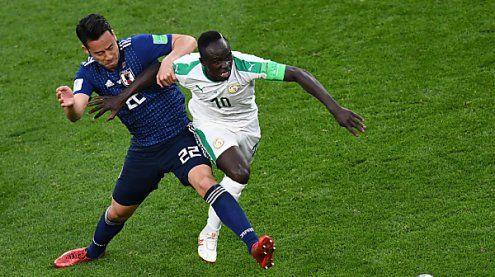 Japan und Senegal blieben mit 2:2 auf Aufstiegskurs bei WM 2018
