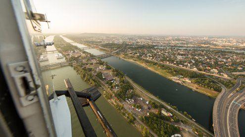 Putztrupps der MA 48 sorgen für sauberes Wiener Donauinselfest