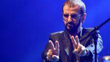 Ex-Beatle Ringo Starr gibt Konzert in der Stadthalle