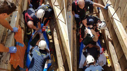 Rohr explodierte: Bauarbeiter in Wien-Josefstadt schwer verletzt