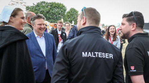 Wiener Bürgermeister besucht das Inselfest: Dank geht an alle