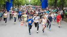 5. U-Run in Wien: 1.400 Kinder liefen am Prater