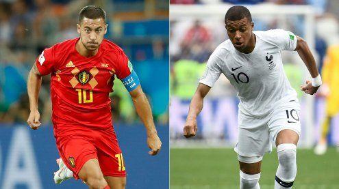 WM LIVE: Frankreich und Belgien wollen Ticket für das Finale lösen